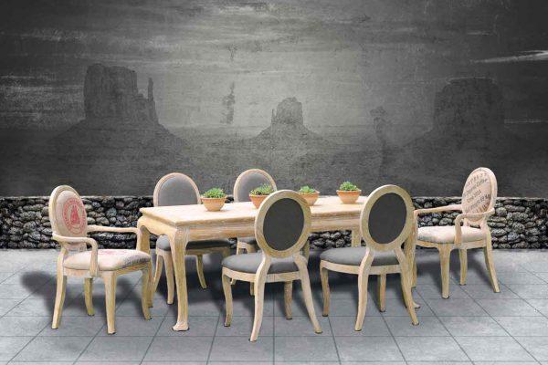 MONROE Tischgruppe