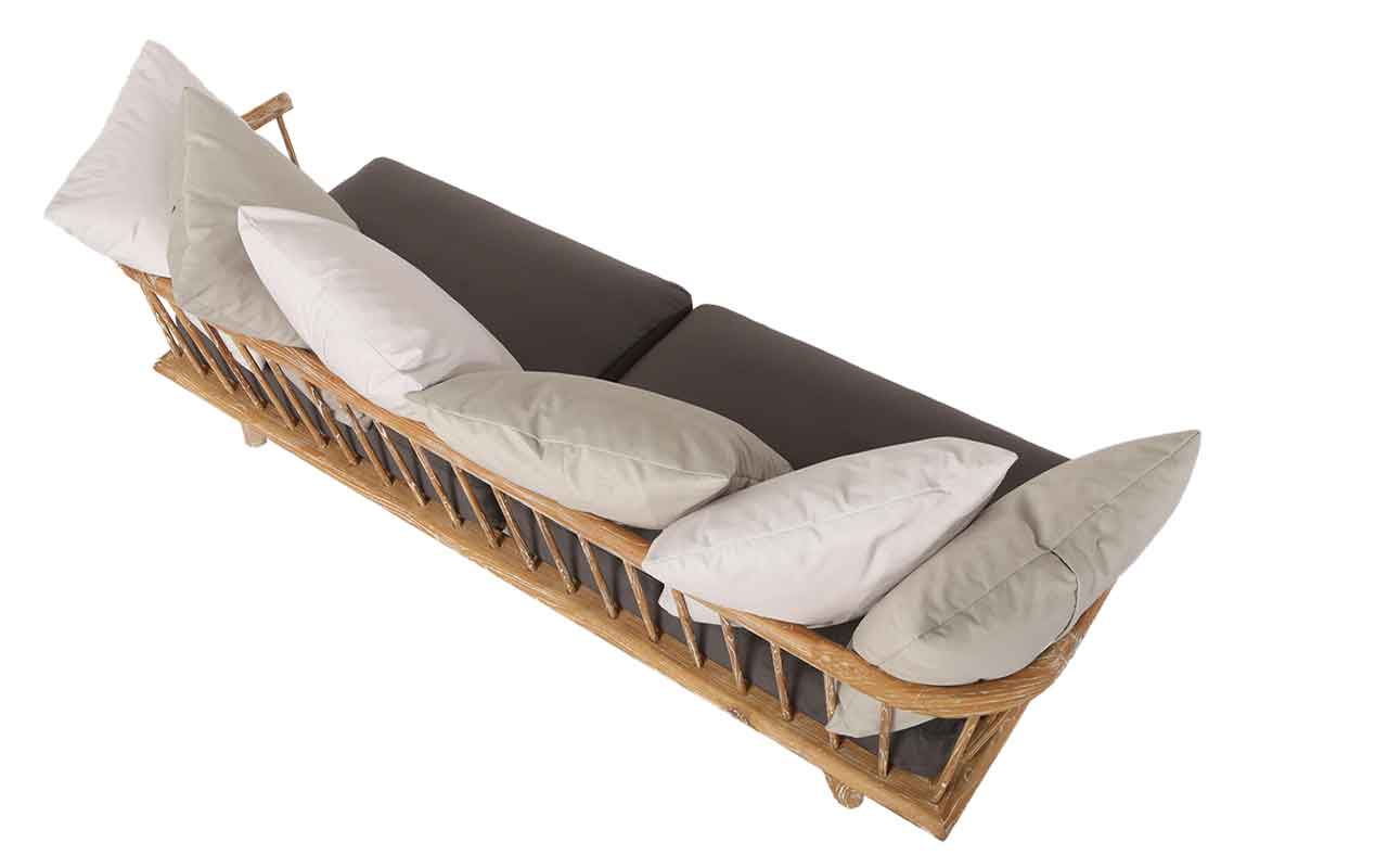 Provence sofa von oben hinten reclaimed for Sofa von oben
