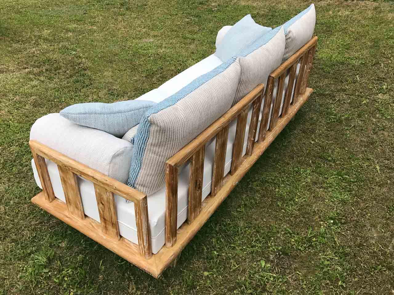 Como lounge sofa reclaimed for Sofa von oben