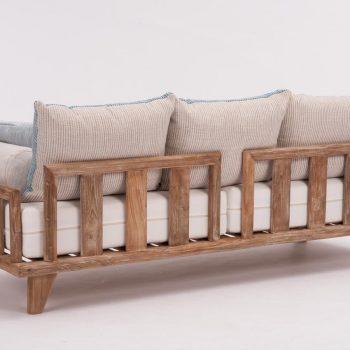 Lounge Sofa COMO im Studio von hinten fotografiert