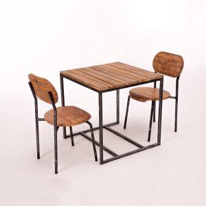 MALAGA Set Tisch und Stuhl